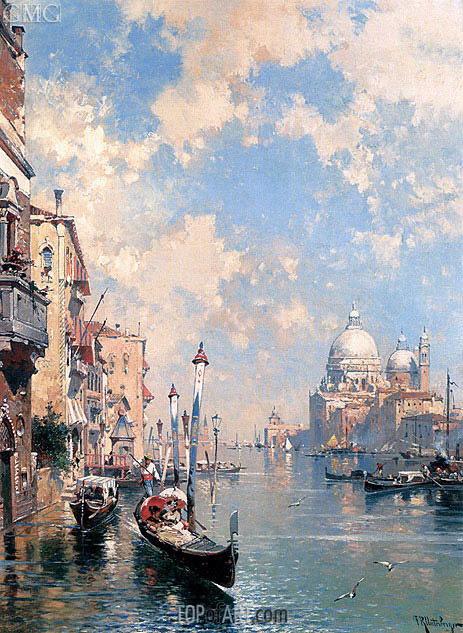 The Grand Canal, Venice, undated | Unterberger | Gemälde Reproduktion