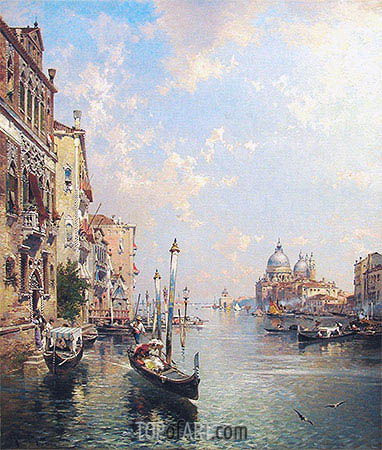 Grand Canal, Venice, undated | Unterberger| Gemälde Reproduktion