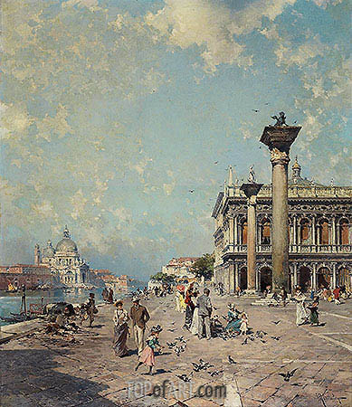 Unterberger | Piazza San Marco, Venice, c.1894/95