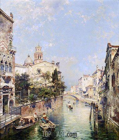 Unterberger | Santa Barnaba, Venice, undated