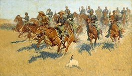 On the Southern Plains | Frederic Remington | Painting Reproduction