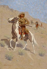 The Scout | Frederic Remington | Painting Reproduction