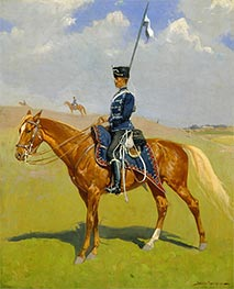 The Hussar | Frederic Remington | Painting Reproduction