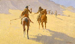 The Parley | Frederic Remington | Painting Reproduction