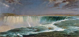 Niagara, 1857 by Frederic Edwin Church | Painting Reproduction
