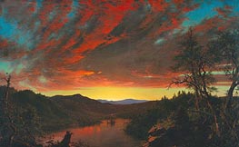 Twilight in the Wilderness | Frederic Edwin Church | outdated