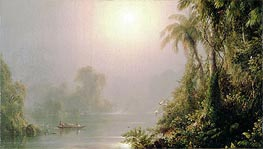 Morning in the Tropics, c.1858 von Frederic Edwin Church | Gemälde-Reproduktion