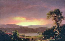 A Catskill Landscape | Frederic Edwin Church | Painting Reproduction