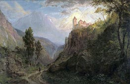 The Monastery of San Pedro (Our Lady of the Snows), 1879 by Frederic Edwin Church | Painting Reproduction