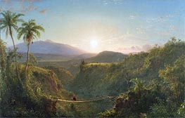 Pichincha, 1867 by Frederic Edwin Church | Painting Reproduction