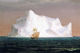 The Iceberg, 1891 by Frederic Edwin Church | Painting Reproduction