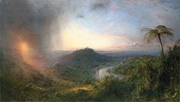 Vale of St. Thomas, Jamaica, 1867 by Frederic Edwin Church | Painting Reproduction