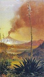 Cotopaxi, undated by Frederic Edwin Church | Painting Reproduction