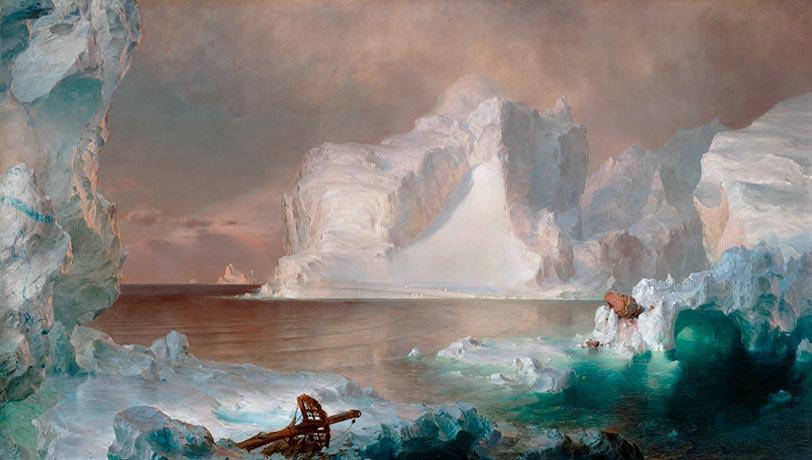 Frederic Edwin Church | The Icebergs, 1861