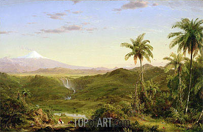 Cotopaxi, 1855 | Frederic Edwin Church| Painting Reproduction