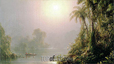 Morning in the Tropics, c.1858 | Frederic Edwin Church | Gemälde Reproduktion