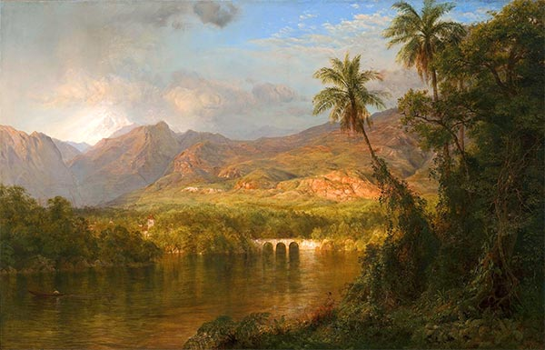Frederic Edwin Church | South American Landscape, 1873