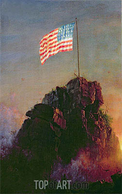 Our Flag, 1864 | Frederic Edwin Church | Painting Reproduction