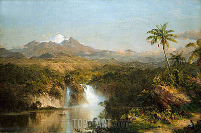 View of Cotopaxi, 1857 | Frederic Edwin Church | Painting Reproduction