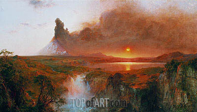 Cotopaxi, 1862 | Frederic Edwin Church| Painting Reproduction