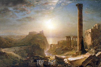 Syria by the Sea, 1873  | Frederic Edwin Church| Gemälde Reproduktion