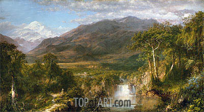 Frederic Edwin Church | Heart of the Andes, 1859