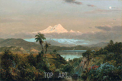 Cayambe, 1858 | Frederic Edwin Church| Painting Reproduction