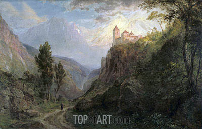 Frederic Edwin Church | The Monastery of San Pedro (Our Lady of the Snows), 1879