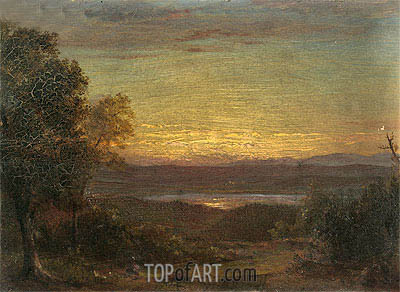 Frederic Edwin Church | Sunset from Olana, 1891