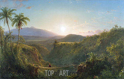 Pichincha, 1867 | Frederic Edwin Church | Gemälde Reproduktion