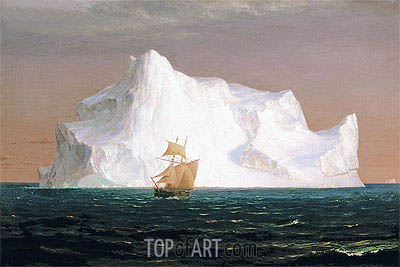The Iceberg, 1891 | Frederic Edwin Church| Painting Reproduction