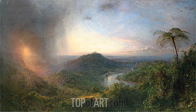 Vale of St. Thomas, Jamaica, 1867 | Frederic Edwin Church| Gemälde Reproduktion