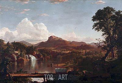 Frederic Edwin Church | Scene in the Catskills, 1851
