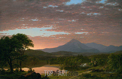 Mountain Ktaadn, 1853 | Frederic Edwin Church | Painting Reproduction
