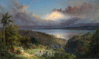 View of Cotopaxi, 1867 | Frederic Edwin Church | Gemälde Reproduktion