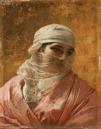 A Circassian | Frederick Arthur Bridgman | outdated