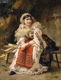 Armenian Woman | Frederick Arthur Bridgman | Painting Reproduction