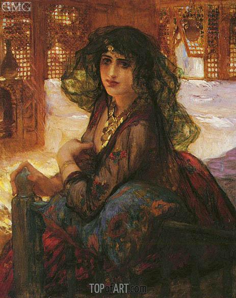 Frederick Arthur Bridgman | Harem Girl, undated
