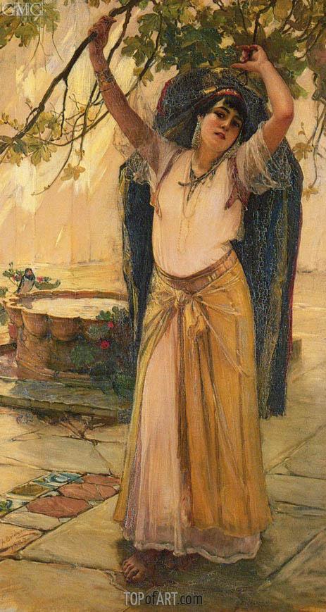 Frederick Arthur Bridgman | Spanish Lady, 1887