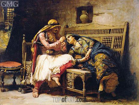 Queen of the Brigands, c.1882 | Frederick Arthur Bridgman | Painting Reproduction