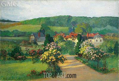 Frederick Arthur Bridgman | Garden in Blossom, undated