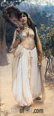 Frederick Arthur Bridgman | Summer Evening, 1888