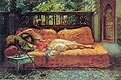 The Siesta (Afternoon in Dreams) | Frederick Arthur Bridgman