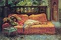 Die Siesta (Nachmittag in Träume) | Frederick Arthur Bridgman