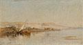 Scene on the Nile   Frederick Arthur Bridgman
