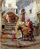 The Orange Seller | Frederick Arthur Bridgman