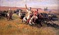 The Falcon Hunt | Frederick Arthur Bridgman
