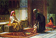 Mother and Child (The First Steps) | Frederick Arthur Bridgman