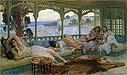 The Silence of the Night: Alger | Frederick Arthur Bridgman