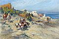 Horsemen in Algiers | Frederick Arthur Bridgman